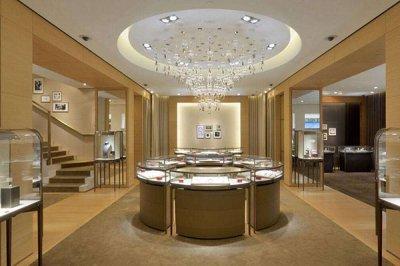 珠宝展柜设计时要注重美观和实用