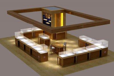 珠宝展柜厂向客户提供哪