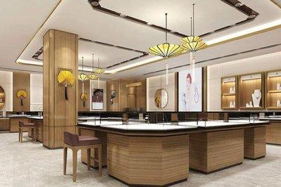 珠宝展示柜怎样设计,才能吸引到消费者的目光