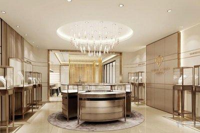 影响珠宝展示柜设计价格的重大因素