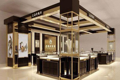 珠宝展柜定做时要明确好材料的选择和方案的设计