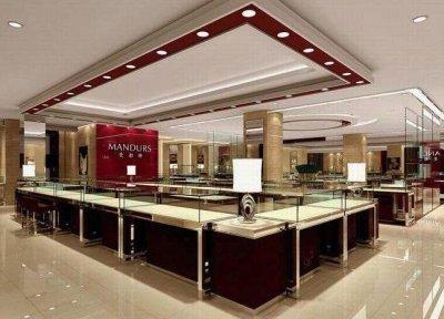珠宝展柜厂家表示展柜装修设计注重要点